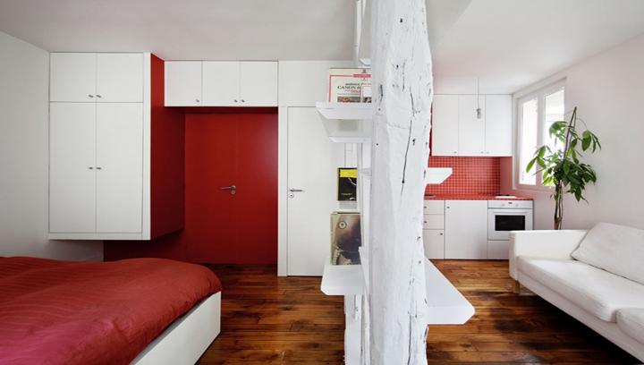 C mo separar una habitaci n en dos sin gastar mucho for Dividir piso en dos