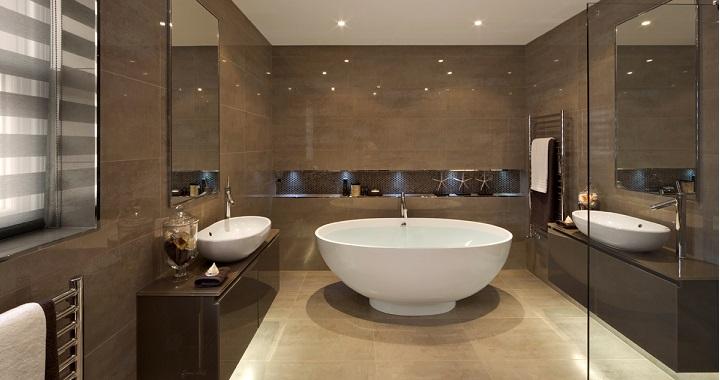 Baño Reformado Ducha:BAÑO NUEVO DESPUES DE REFORMADO