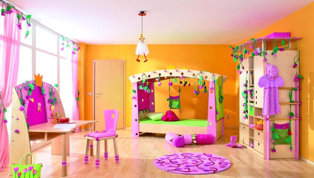 C mo decorar una habitaci n de ni a - Ideas para decorar habitacion de nina ...