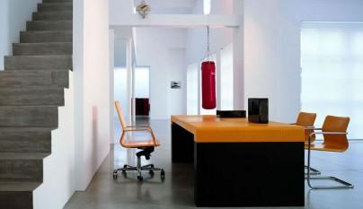 mesa-de-oficina-de-tonos-naranjas