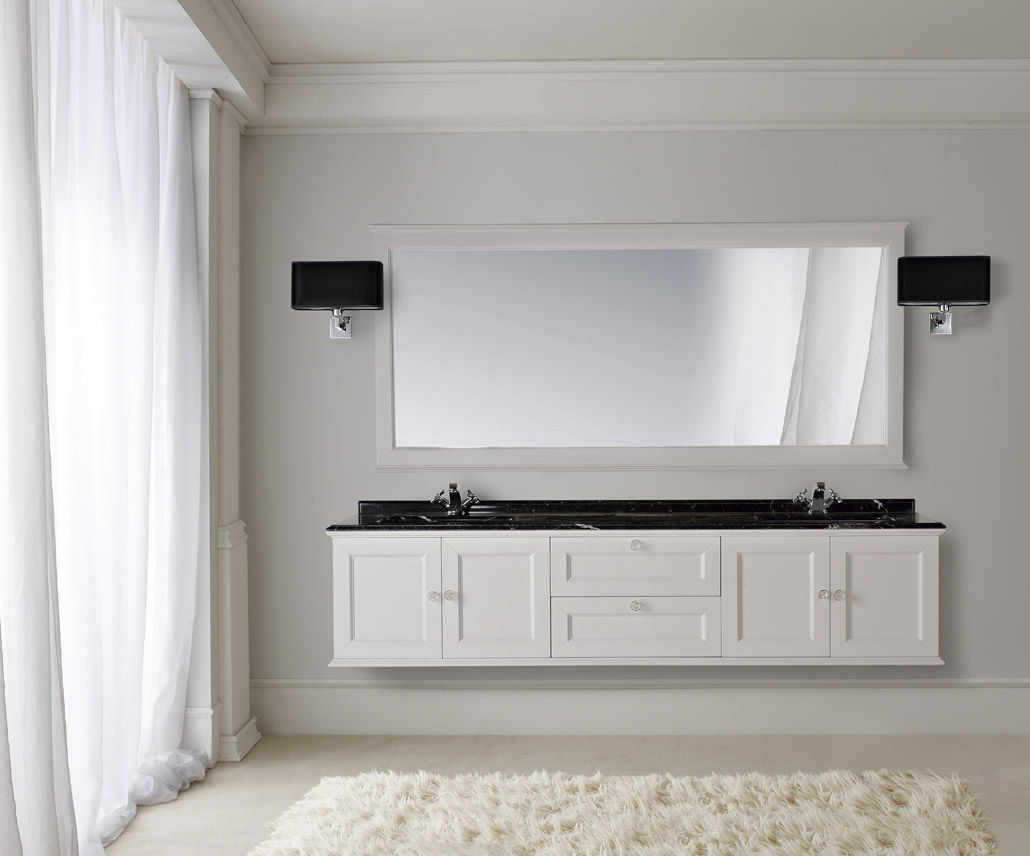 Muebles de ba o doble lavabo for Muebles de lavabo