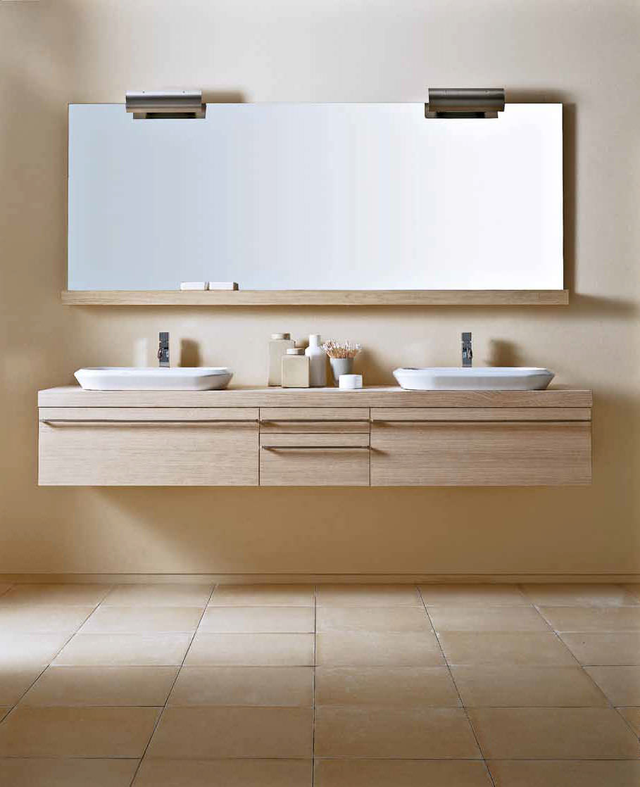Muebles lavabo dobles pared 62710 3058773 for Muebles cuarto bano