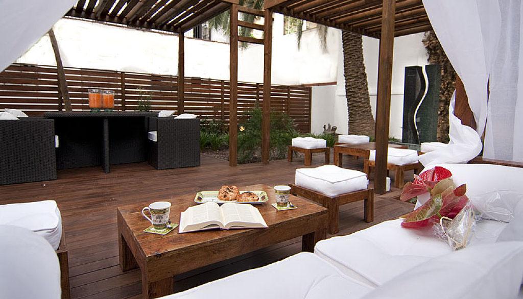 Crea un rinc n acogedor en tu hogar - Decoracion terrazas chill out ...