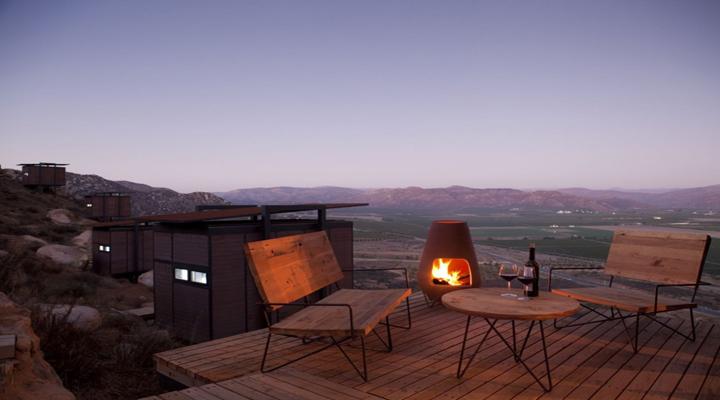 Claves para una terraza perfecta en invierno - Chimeneas para terrazas ...