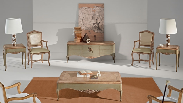 Consigue una decoraci n vintage - Cuadros clasicos para salon ...