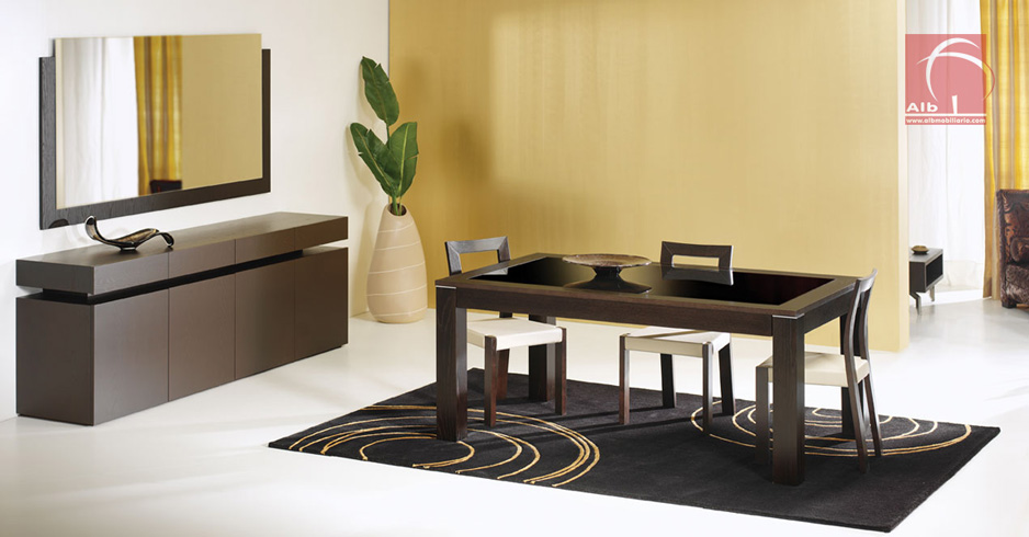 Muebles modernos para el comedor for Muebles sala comedor