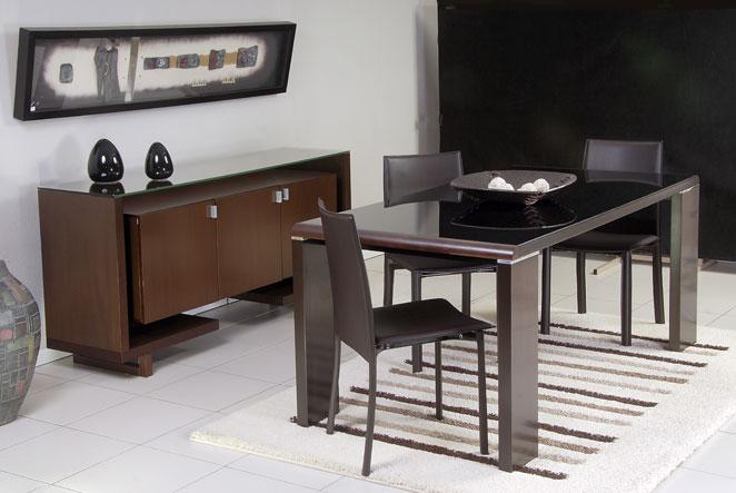 Muebles modernos para el comedor for Fotos muebles comedor