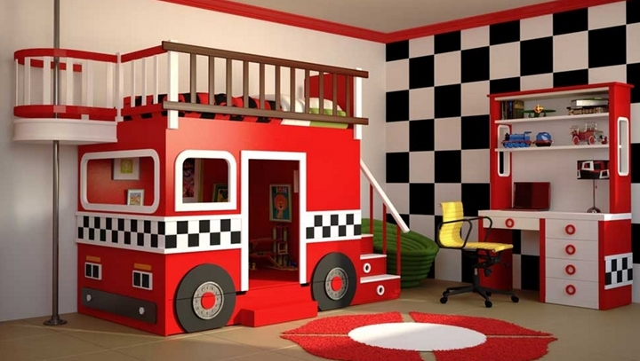 Camas infantiles con formas divertidas - Camas infantiles divertidas ...