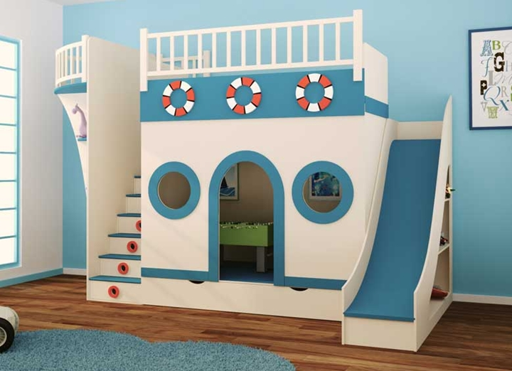 Camas infantiles con formas divertidas - Fotos camas infantiles ...