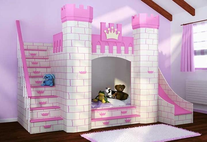 Camas infantiles con formas divertidas - Camas dormitorios infantiles ...