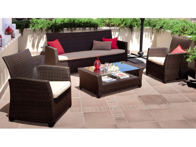 decoracion mueble sofa carrefour muebles terraza