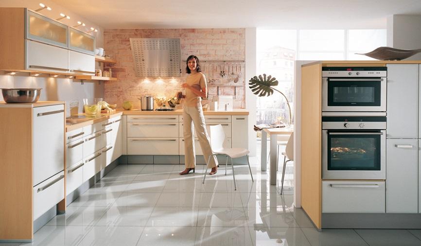 - The singular kitchen ...