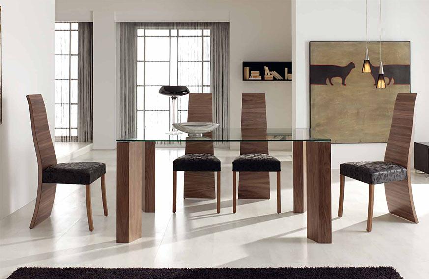 Muebles modernos para el comedor for Muebles de comedor modernos ikea