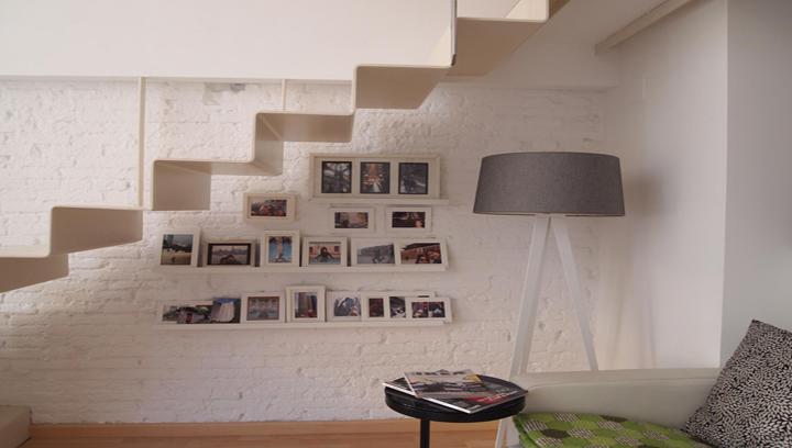 decoracion paredes escaleras