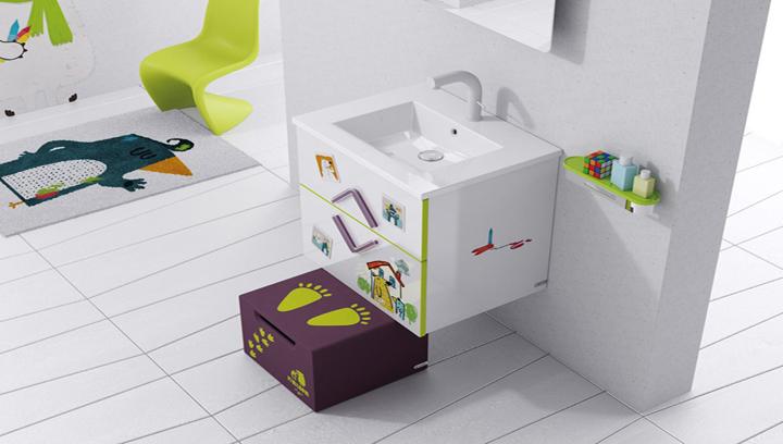 Baño Ninos Decoracion:Consejos para adaptar el baño para los niños