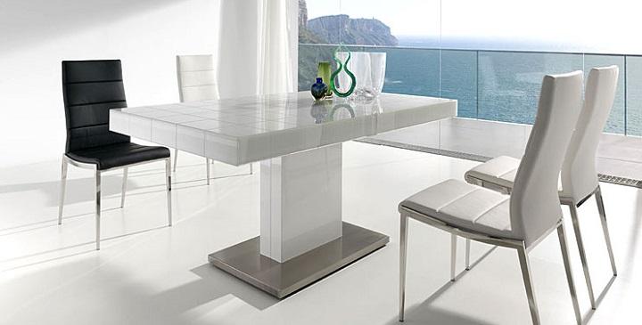Muebles modernos para el comedor for Mesas para comedores pequea os