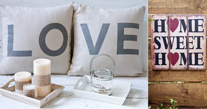 Mensajes para decorar el hogar for Articulos para decorar el hogar