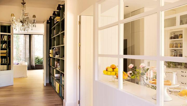 Consejos para sacar partido al pasillo for Cocinas abiertas al pasillo