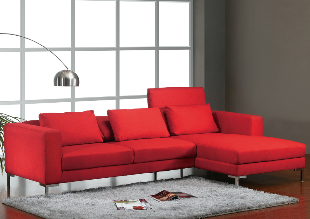 Sofa modular rojo for Sofas para salon