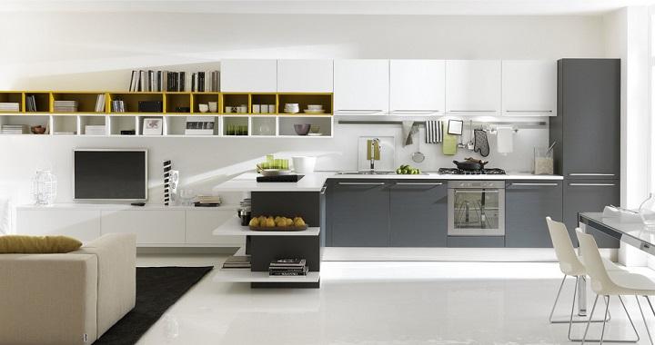Ventajas de las cocinas abiertas - Cocinas abiertas rusticas ...