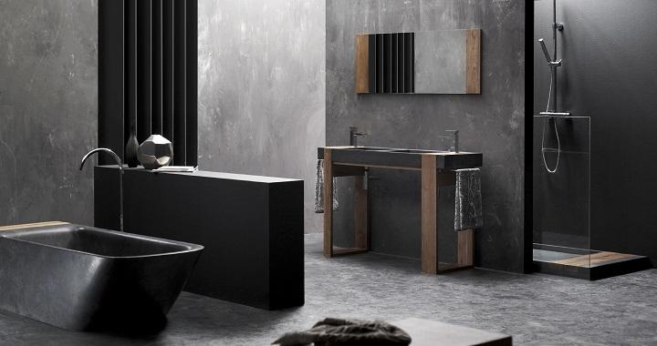 Decoracion De Baño Gris:Fotos de baños modernos