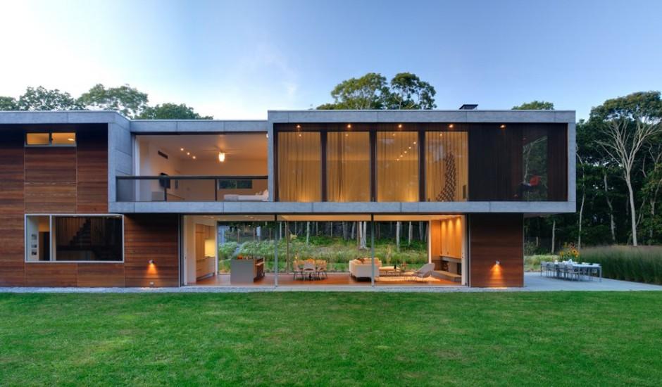 Fotos de casas minimalistas for Casa minimalista cristal