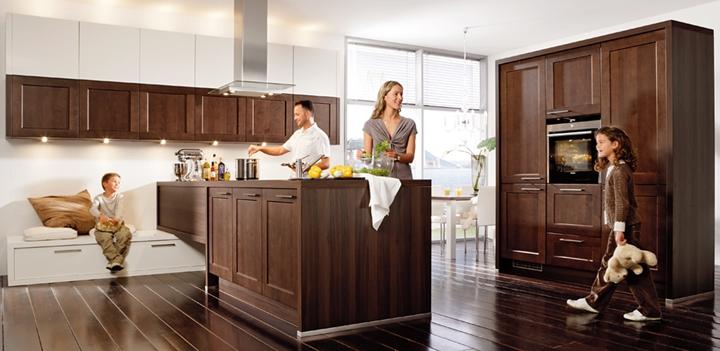 Cocinas de madera modernas - Isletas de cocina ...