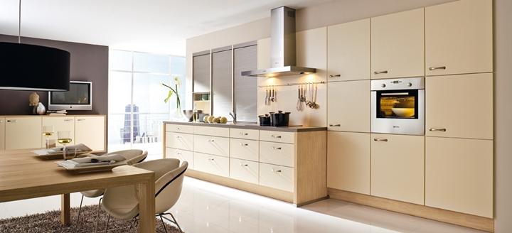 Cocinas de madera modernas for Cocinas acogedoras
