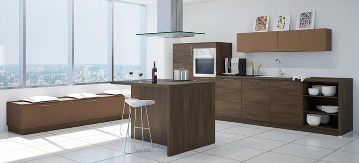 Cocinas de madera modernas for Ultima moda en cocinas