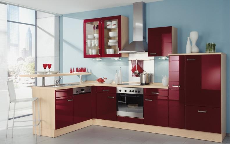 Cocinas pequenas colores4 for Colores en cocinas pequenas