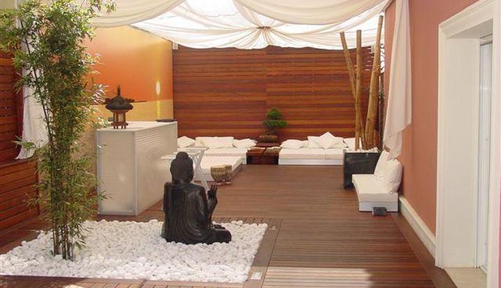 terraza con estilo propio