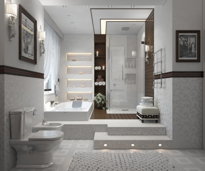 Baño Diseno Modernos:Modern Contemporary Bathroom Design