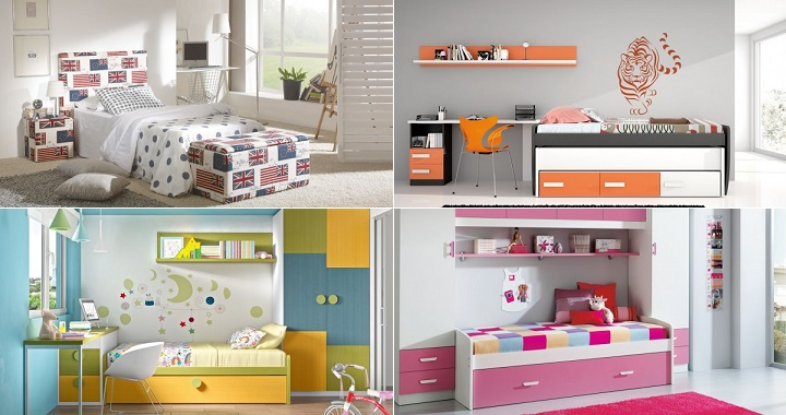 Dormitorios Juveniles Ninos Fotos Diseos Arquitectnicos