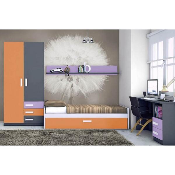 Dormitorios juveniles merkamueble16 for Muebles juveniles merkamueble