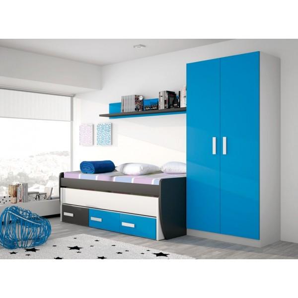 Dormitorios juveniles merkamueble17 for Muebles juveniles merkamueble