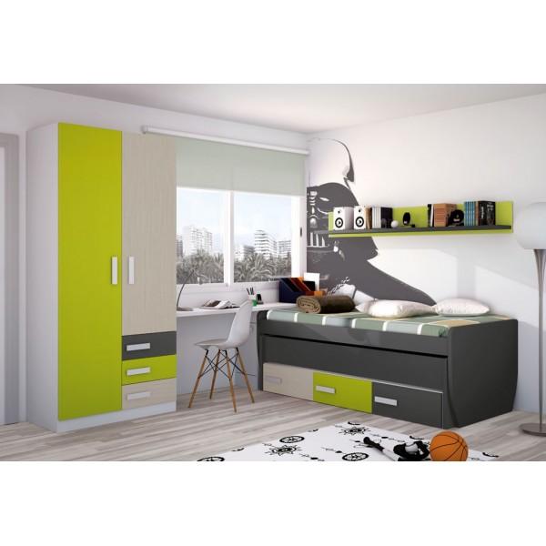 Dormitorios juveniles en merkamueble cool dormitorio for Muebles juveniles merkamueble