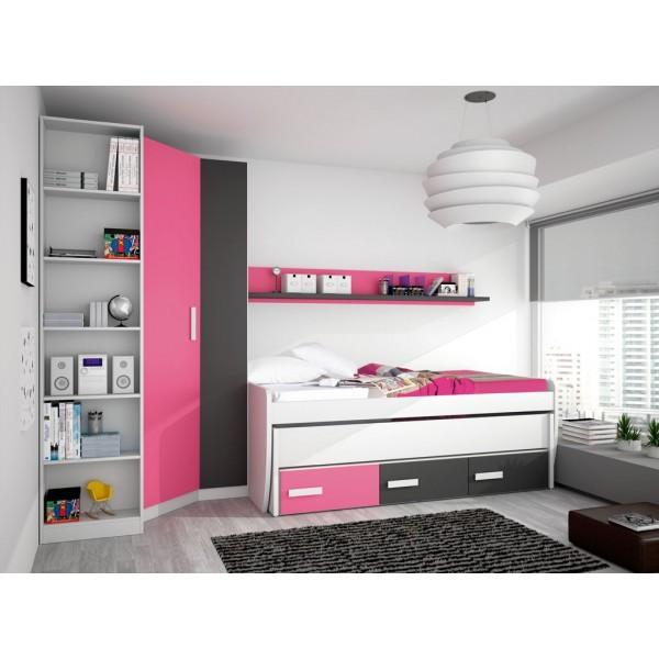 Dormitorios juveniles merkamueble27 for Muebles juveniles merkamueble