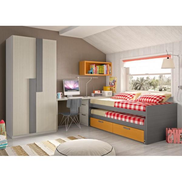 Dormitorios juveniles merkamueble36 - Merkamueble dormitorios juveniles ...