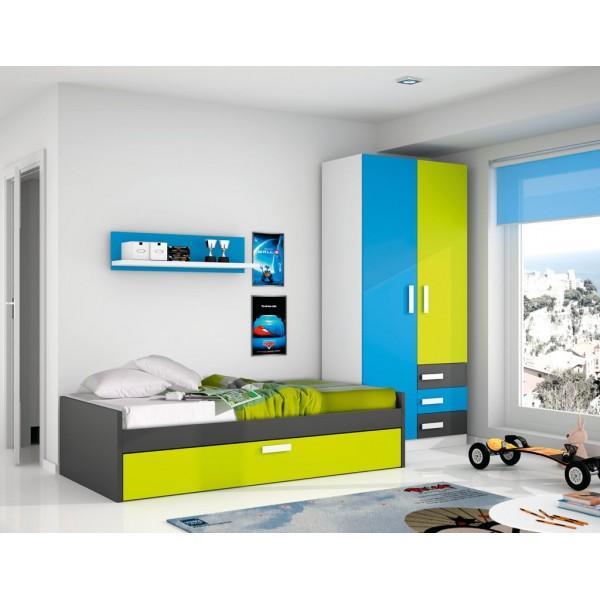 Dormitorios juveniles merkamueble4 for Muebles juveniles merkamueble