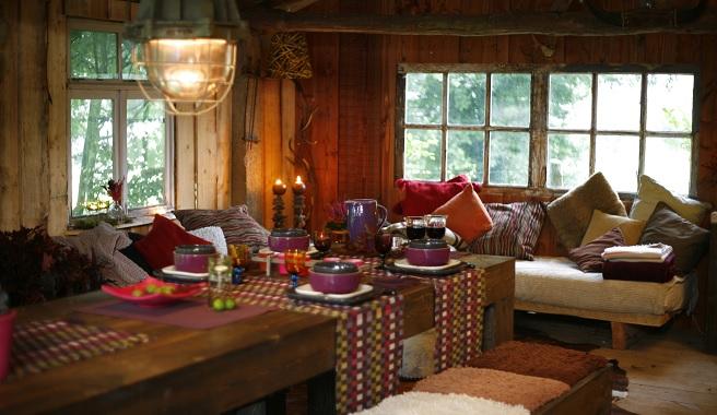 Fotos de casas de estilo r stico - Como decorar una casa rustica ...