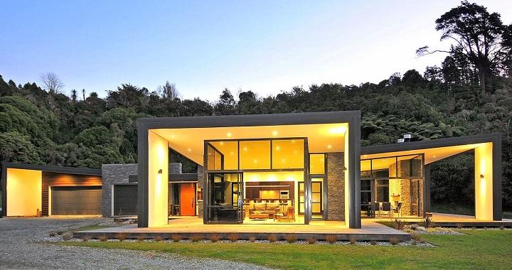 Fotos de casas minimalistas for Construcciones minimalistas
