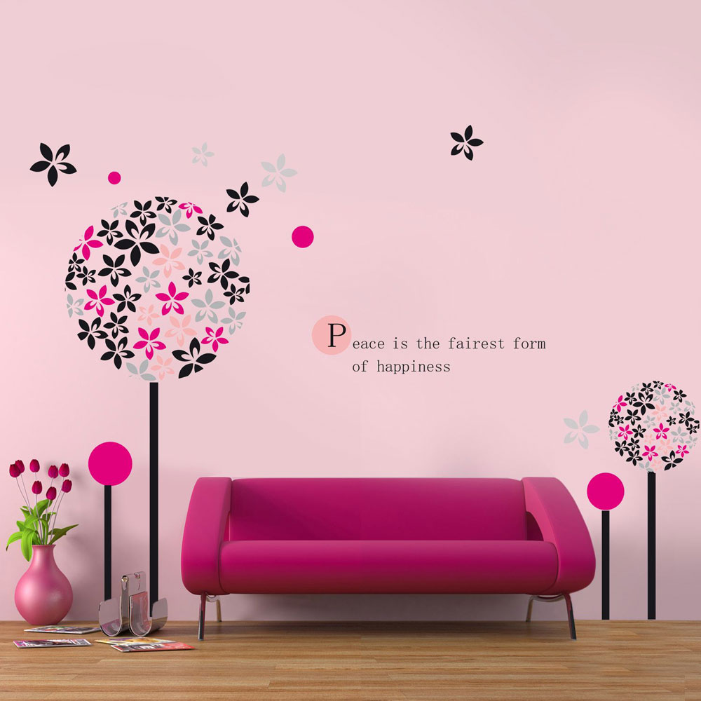 Decorar las paredes con frases - Como decorar pared con fotos ...