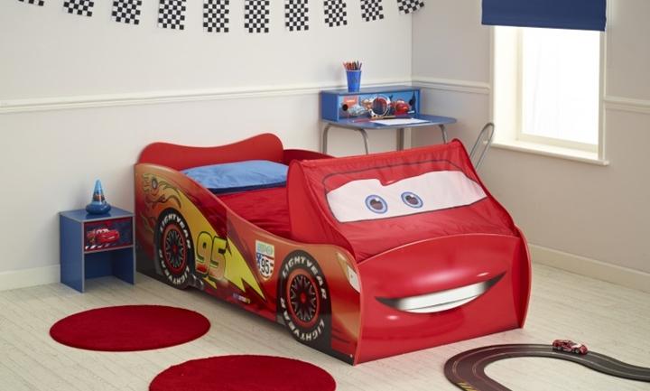 Habitaci n infantil de cars - Cama infantil cars ...