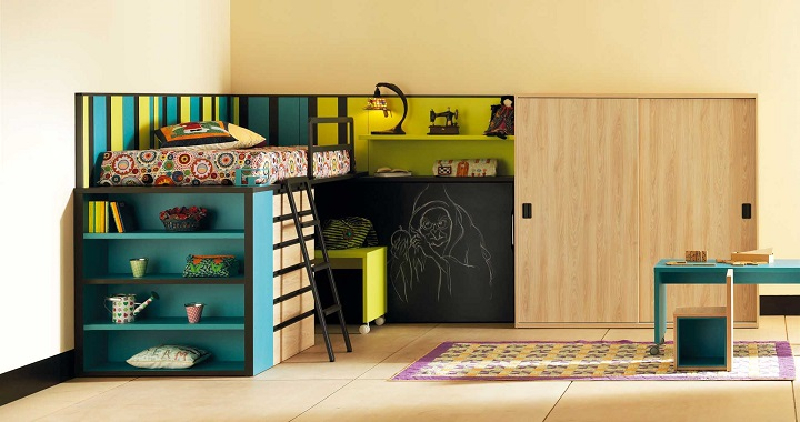 Ideas decorar cuartos infantiles