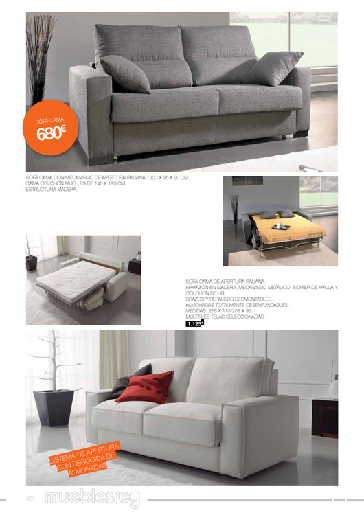 Muebles rey 201442 for Catalogo muebles rey