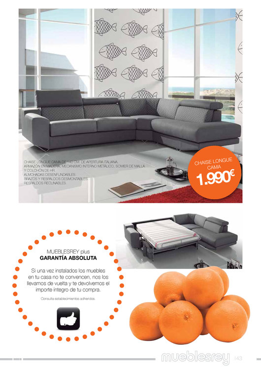 Muebles rey 201443 for Catalogo muebles rey