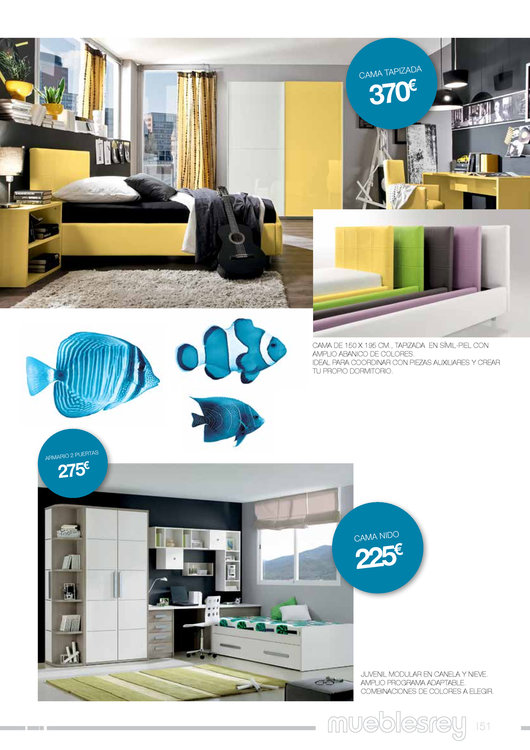Muebles rey 201451 for Catalogo muebles rey