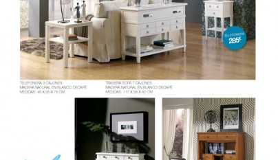 Decorablog revista de decoraci n for Catalogo muebles rey