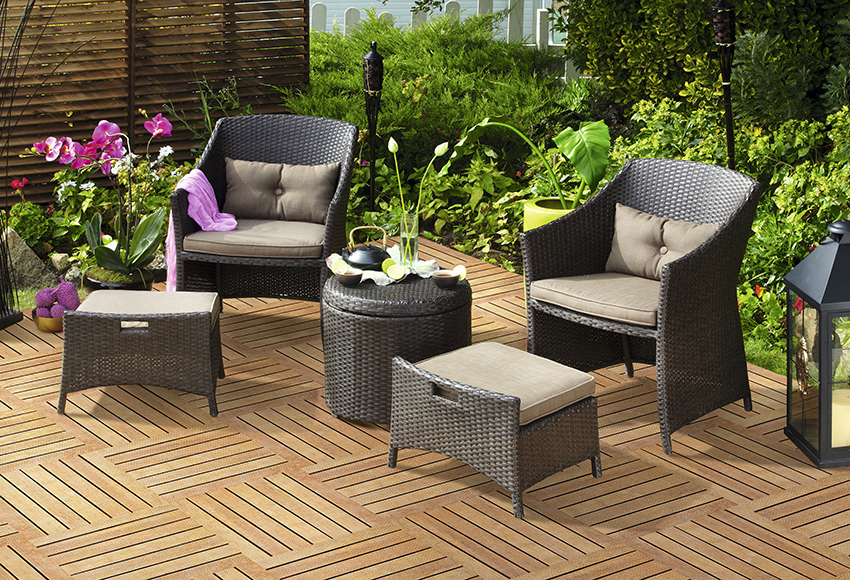 Muebles de bao leroy merlin ofertas trendy top with for Ofertas mesas jardin
