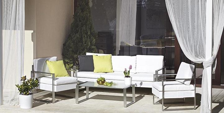 Muebles baratos para la terraza for Bancos jardin baratos